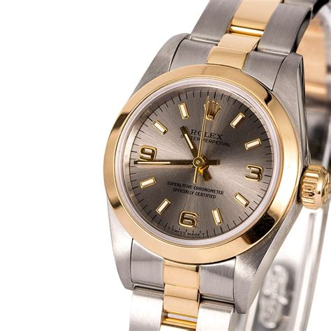 Rolex Oyster Perpetual 67183 Ladies Watch   Bob's Watches ...