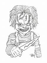 Chucky Mosca sketch template