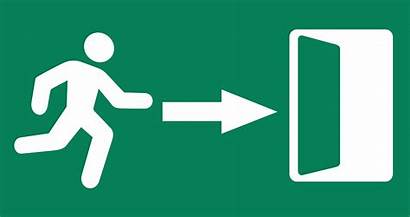 Exit Sign Clipart Harz Cliparts Clip Workplace