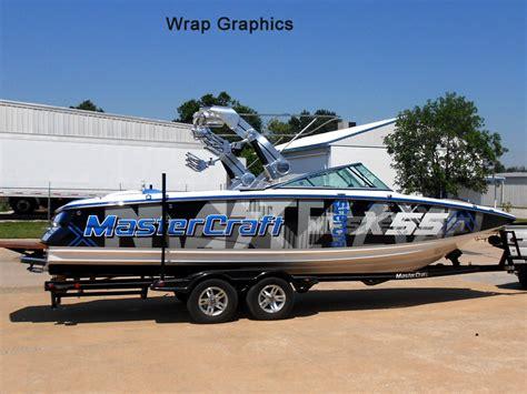 Mastercraft Boat Graphics by Pin Mastercraft Custom Boat Wrap On