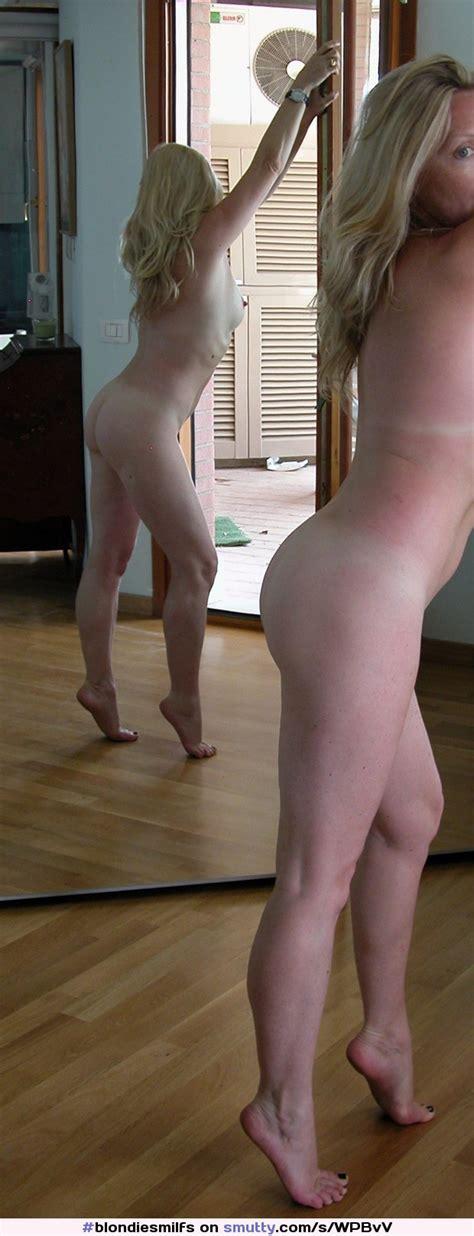 Amateur Milf Mature Blonde Wife Ass Tanlines Feet