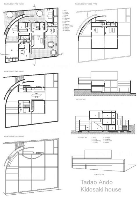 4 quality of light kidosaki house tadao ando architectural plan arquitectura