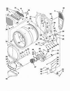 Whirlpool Model Wgd9550ww2 Residential Dryer Genuine Parts