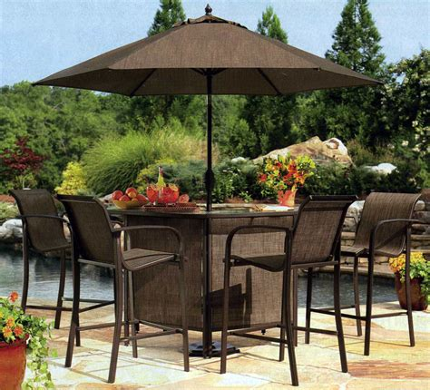 Outside Bar Furniture by Purchase Outdoor Bar Sets With Canopy For Refreshing