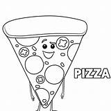 Pizza Coloring Pages Hut Toppings Colouring Sheets Cheese Poe Shopkins Season Getdrawings Printable Getcolorings Colorings sketch template