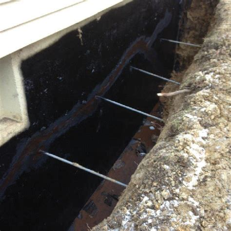 exterior basement waterproofing protects  foundation