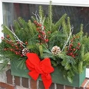 Winter Window Boxes on Pinterest