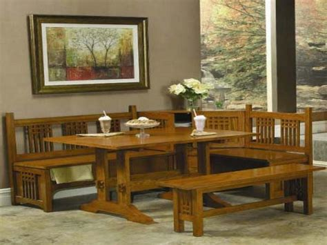 Corner Kitchen Table Set by Simple Corner Bench Kitchen Table On Details About Linon