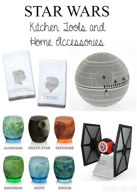 wars kitchen accessories wars kitchen tools and home accessories giftideas 5783