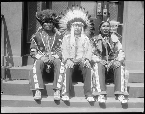 sioux indians left   sitting bull  yrs