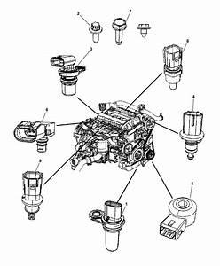 2007 Jeep Compass Sensors - Engine Gas
