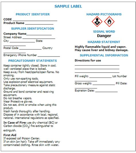 Osha Sds Template by Osha Sds Template 28 Images 28 Images Of Ghs Sds