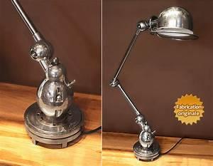Lampe De Bureau Ancienne : lampe jielde ~ Teatrodelosmanantiales.com Idées de Décoration