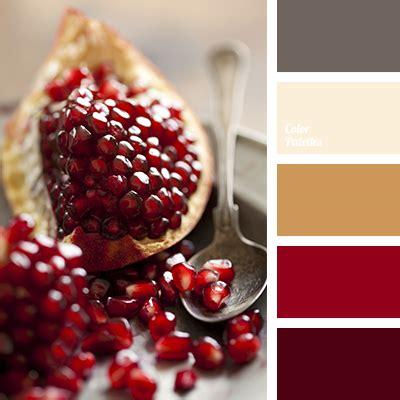 pomegranate color pomegranate color color palette ideas