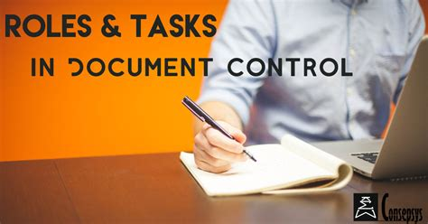roles job functions  document control consepsys