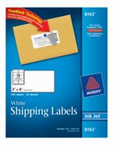 white shipping labels 8163 With avery 8163 label stickers