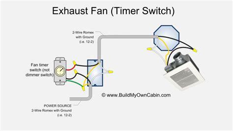 bathroom extractor fan with light bathroom fan wiring diagram fan timer switch