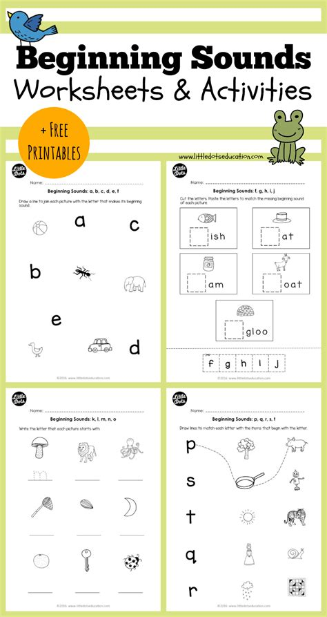 Kindergarten Beginning Sounds Worksheets Photo Worksheet Mogenk Paper Works