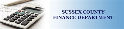 bureau of finance finance department sussex county virginia part of