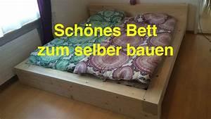 Massivholz Bett Selber Bauen Anleitung : ein bett zum selber bauen by lunchvegaz youtube ~ Watch28wear.com Haus und Dekorationen