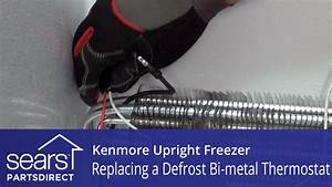 How To Replace A Kenmore Upright Freezer Defrost Bi-metal Thermostat