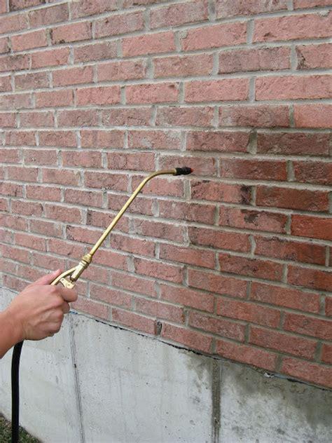 brick wall sealant sealer for bricks masonry and stone applied technologies
