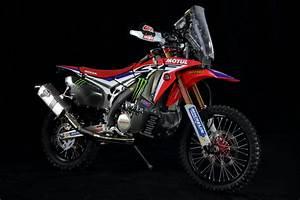 Racing Caf U00e8  Honda Crf 450 Rally Team Monster Energy Honda