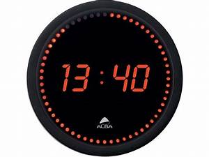 Horloge Murale Led : horloge murale led cm contact signals ~ Teatrodelosmanantiales.com Idées de Décoration