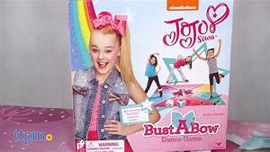 JoJo Siwa Bust A Bow Dance Game from Cardinal Industries ...