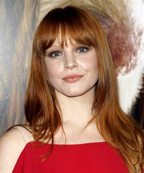 Lauren Ambrose Long Straight Casual Hairstyle