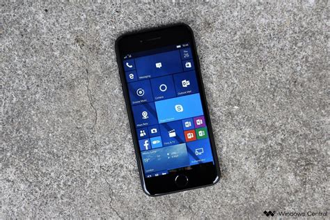 using an iphone in the microsoft ecosystem windows central