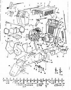Craftsman Sears 12 H P  Suburban Tractor Parts