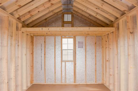 10x14 painted hardie board shed byler barns