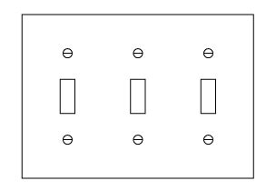 Electrical Faceplate Wallplate Types Dimensions