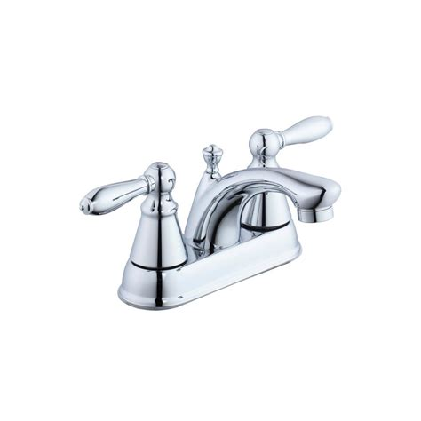 kitchen sinks with faucets glacier bay 2500 series 4 in centerset 2 handle bathroom 6101