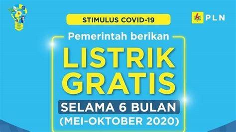 jangan lupa klaim token listrik gratis pln oktober