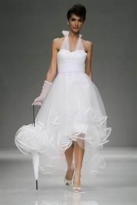 Robe De Mariée Originale : robe de mari e courte et originale ~ Nature-et-papiers.com Idées de Décoration