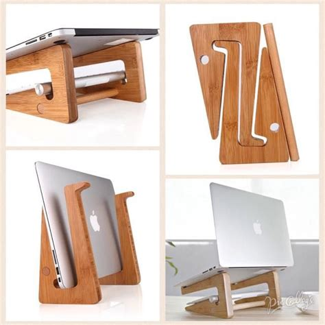 bamboo laptop stand beginner woodworking projects