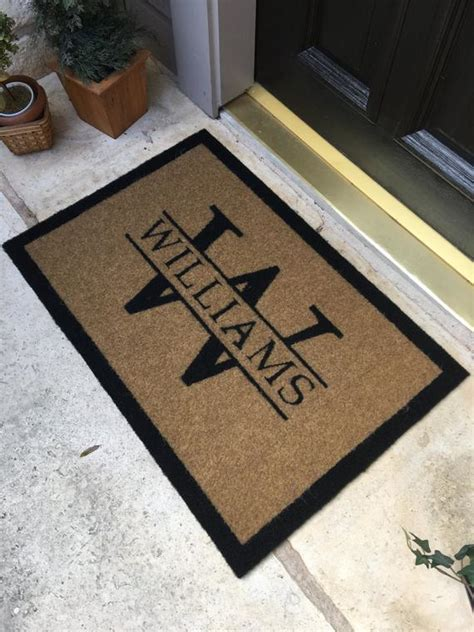 Custom Outdoor Doormats by The Most Durable And Custom Door Mat Available