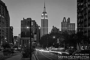 Black and White City Skylines and Citiscapes