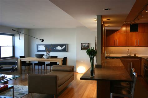 dropped ceiling creates architectural transition