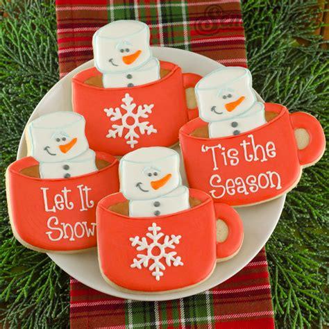 christmas decoration cookies storage gift box idea