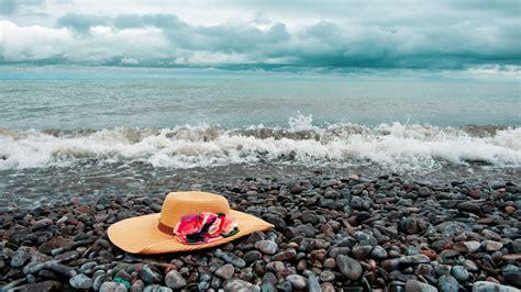 sombrero en el mar fondos hd