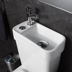 Reservoir Wc Lave Main : les ensembles wc 2 en 1 avec lave mains ~ Melissatoandfro.com Idées de Décoration