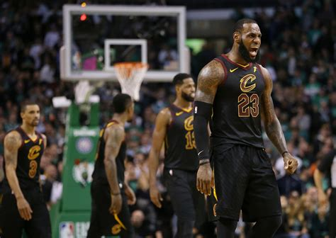 LeBron James reaches 8th straight NBA Finals as Cavaliers ...