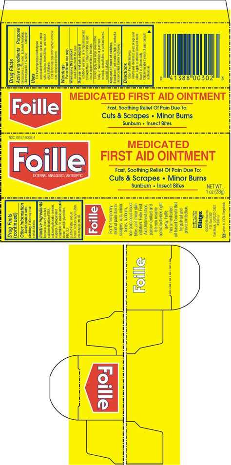 Blistex Foille Medicated First Aid (Blistex Inc ...