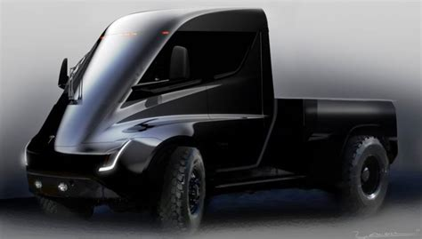 tesla electric pickup truck tesla released some bizarre photos of its electric pickup
