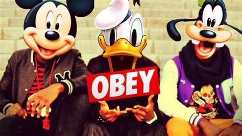 obey mickey et sa bande false