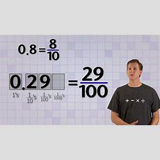 Converting Base 10 Fractions Don't Let Math Scare You We Can Help You Get The Math Skills You