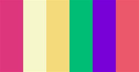 60s Retro Color Scheme » Green » SchemeColor.com